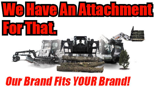 Landscaping Bark Kalispell : Attachment distributors skid steer attachments bobcat